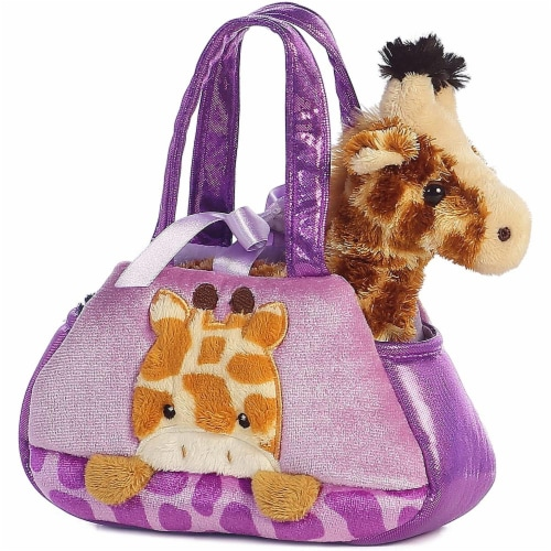 Aurora World Fancy Pals Peek-A-Boo Giraffe Pet Carrier Perspective: back