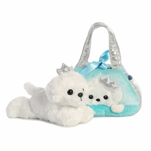 Fancy Pals Peek-A-Boo Princess Puppy 7 Inch Pet Carrier Perspective: back