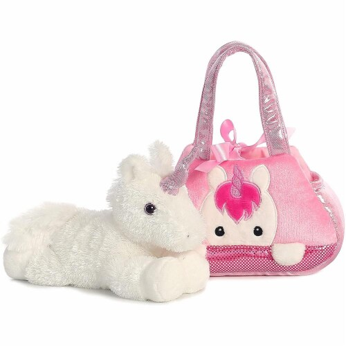 Aurora World Fancy Pals Pet Carrier, Peek-A-Boo Unicorn Perspective: back
