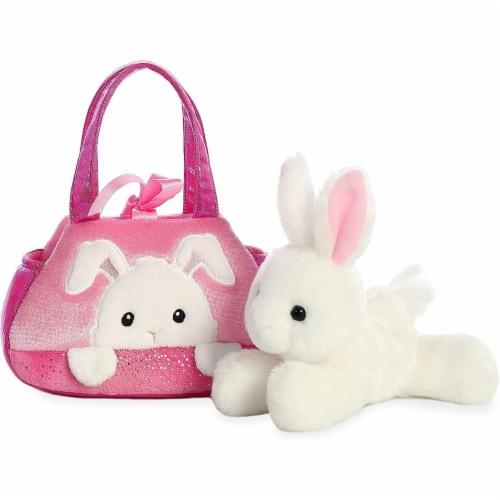 "Aurora World Inc. 7"" PEEK-A-Boo Bunny Fancy Pal Pet Carrier Perspective: back"