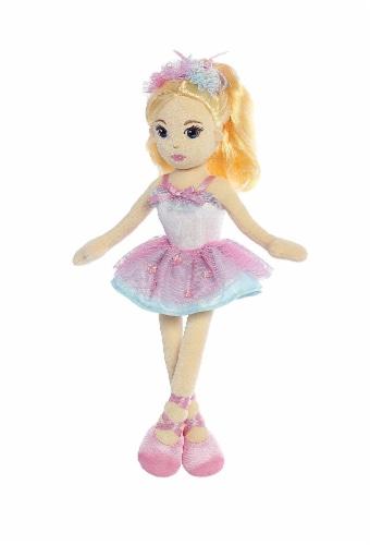 Aurora World Ballerina Mia Doll Plush Perspective: back