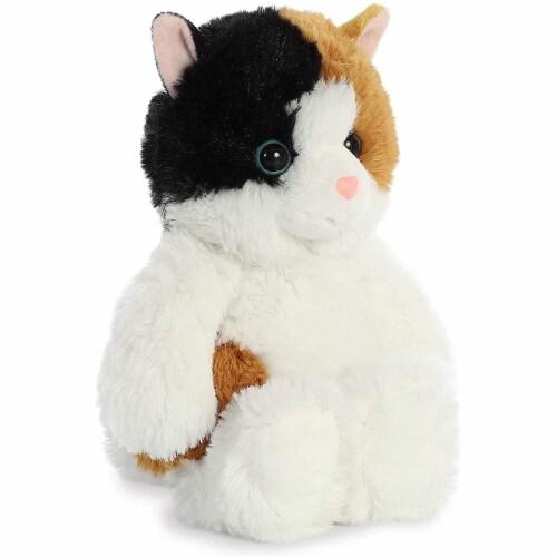 Aurora Esmeralda Cat Plush, White Perspective: back