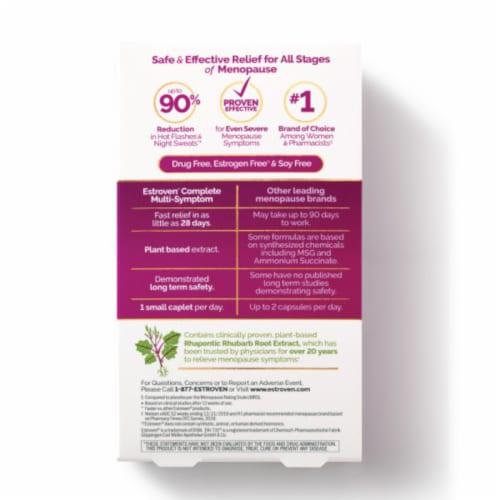 Estroven Complete Mulit-Symptom Menopause Relief Caplets Perspective: back