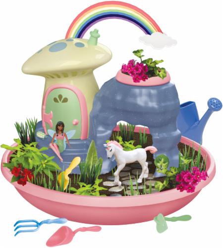 PlayMonster My Fairy Garden Unicorn Paradise Kit Perspective: back