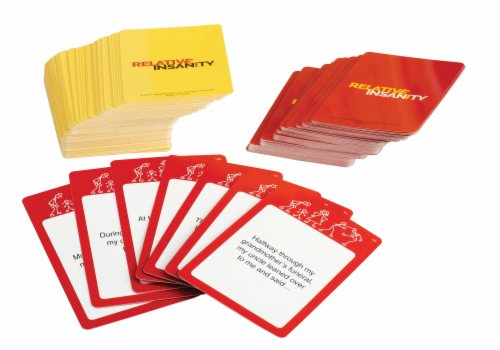 PlayMonster Relative Insanity Card Game Perspective: back