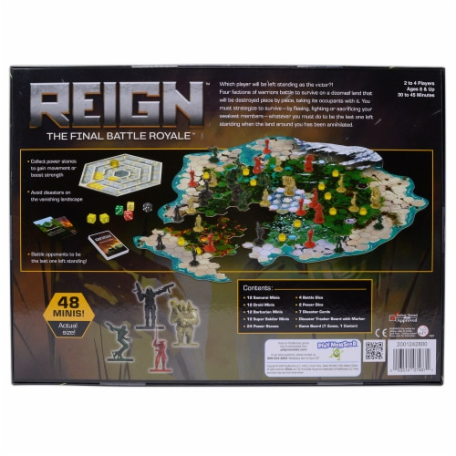 PlayMonster Reign The Final Battle Royale Board Game Perspective: back