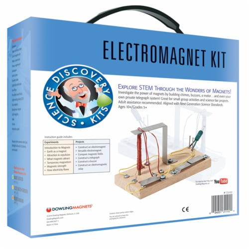 Dowling Magnets Electromagnet Science Kit Perspective: back