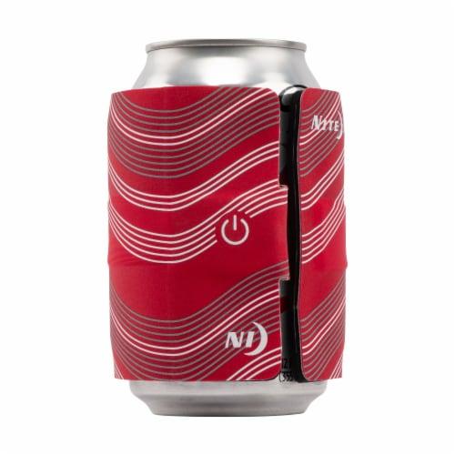 Nite Ize SlapLit LED Drink Wrap - Red Perspective: back