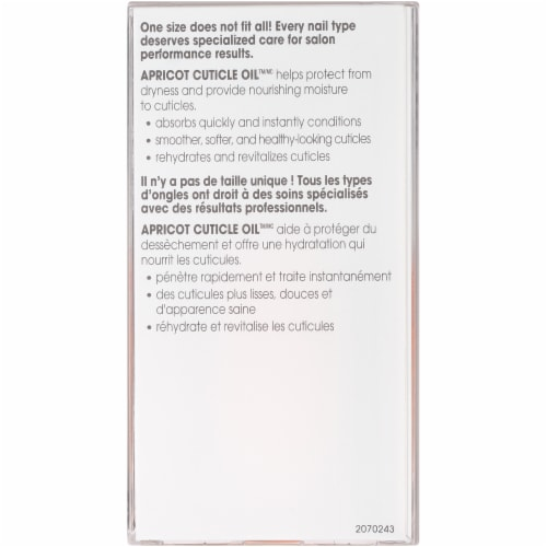 Essie Apricot Cuticle Oil Perspective: back