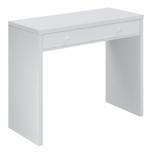 Northfield 36 inch Desk with Drawer Perspective: back