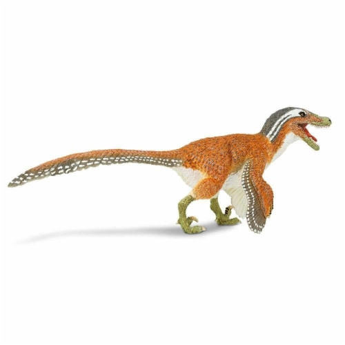 Feathered Velociraptor Toy Perspective: back