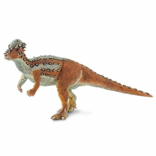 Pachycephalosaurus Toy Perspective: back