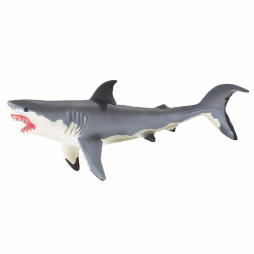 Great White Shark Toy Perspective: back