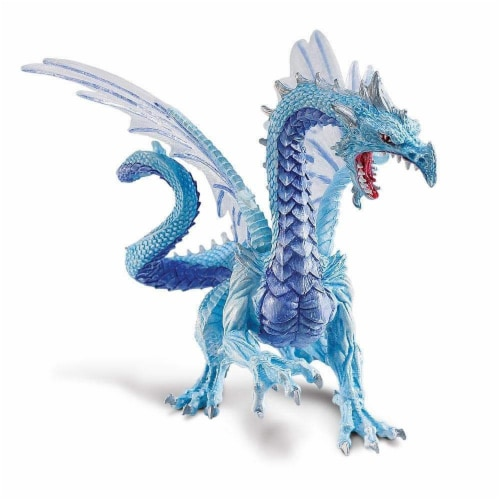 Ice Dragon Toy Perspective: back