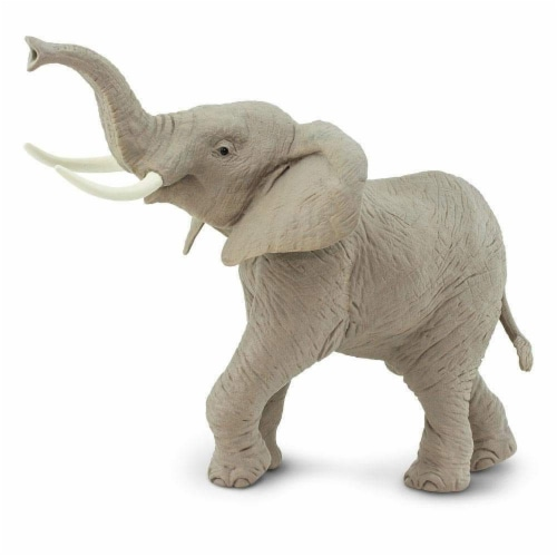 African Elephant Toy Perspective: back