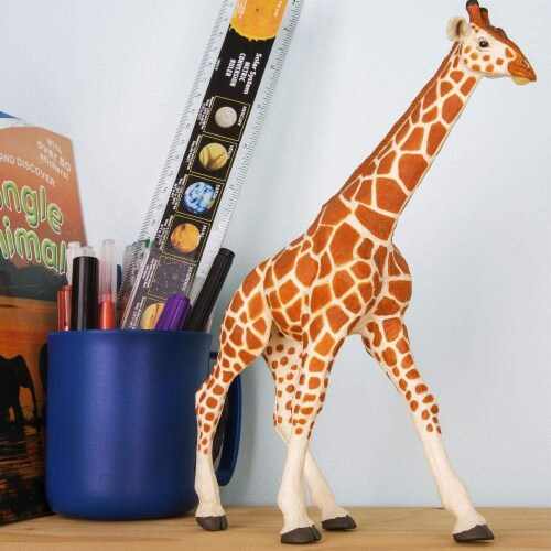 Reticulated Giraffe Toy Perspective: back