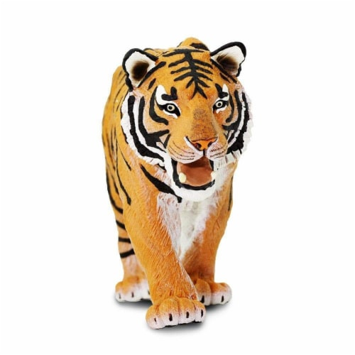Siberian Tiger Toy Perspective: back