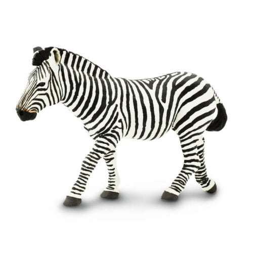 Zebra Toy Perspective: back