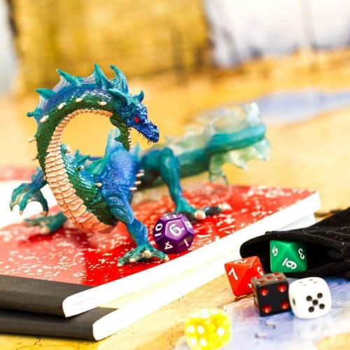 Sea Dragon Toy Perspective: back