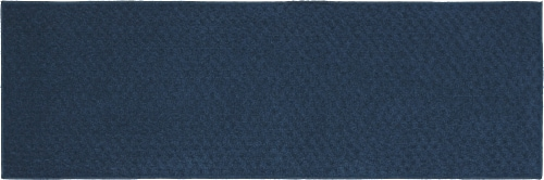 Garland Town Square Floor Runner - Navy Perspective: back