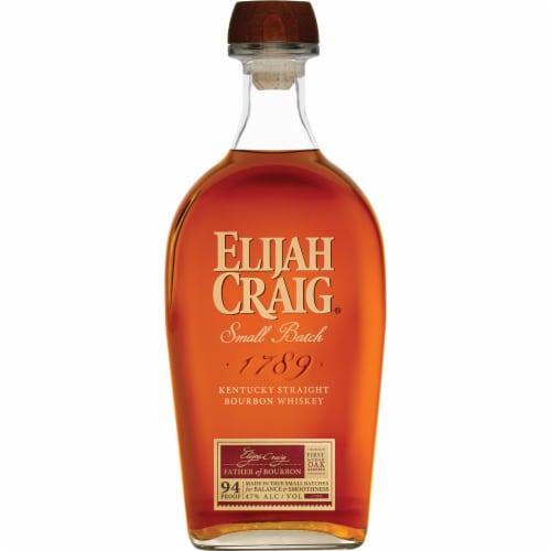Elijah Craig® Straight Bourbon Small Batch Whiskey Perspective: back