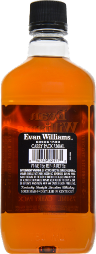 Evan Willams Bourbon Whiskey Perspective: back