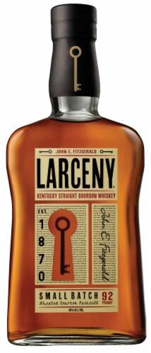 Larceny Kentucky Bourbon Whiskey Perspective: back