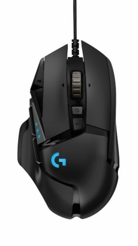 Logitech G502 HERO High Performance Gaming Mouse Perspective: back