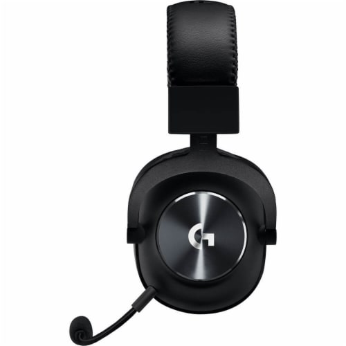 Logitech G Pro X Gaming Headset Perspective: back