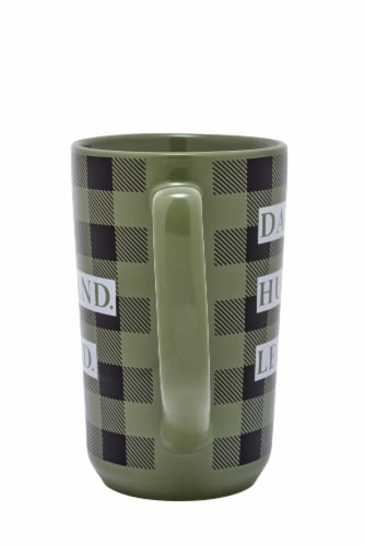 PMI Worldwide Dad Husband Legend Ceramic Mug Perspective: back