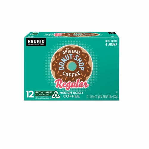 The Original Donut Shop Coffee Regular Medium Roast K-Cup Pods Perspective: back