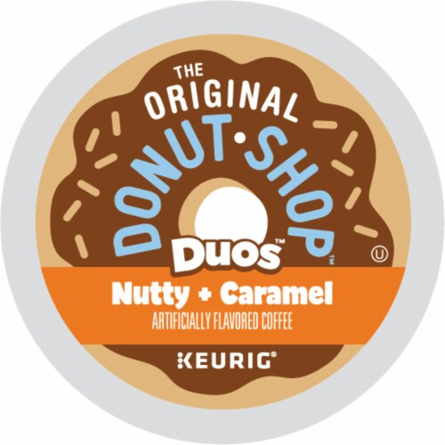The Original Donut Shop Nutty Caramel Coffee K-Cup Pods Perspective: back
