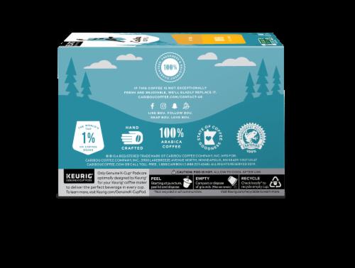 Caribou Coffee® Daybreak Light Roast Coffee K-Cup Pods Perspective: back