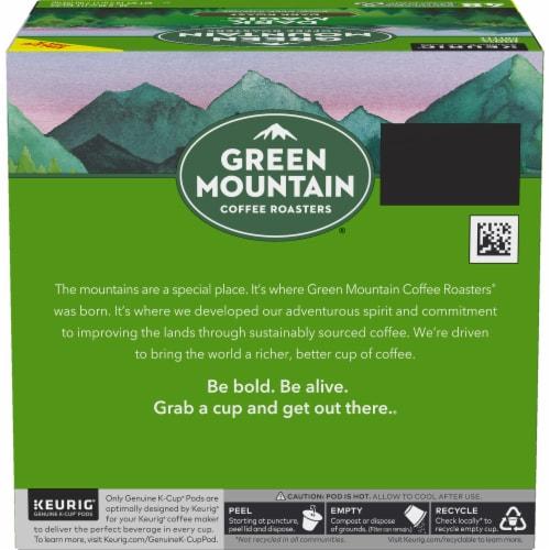 Green Mountain Dark Magic Dark Roast Coffee K-Cup Pods Perspective: back