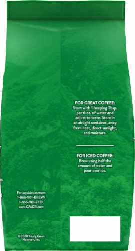 Green Mountain Coffee Colombia Select Medium Roast Ground Coffee Perspective: back