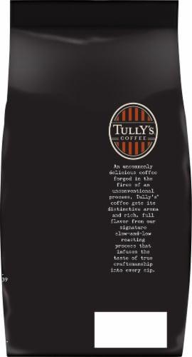 Tully's Coffee Italian Roast Perspective: back