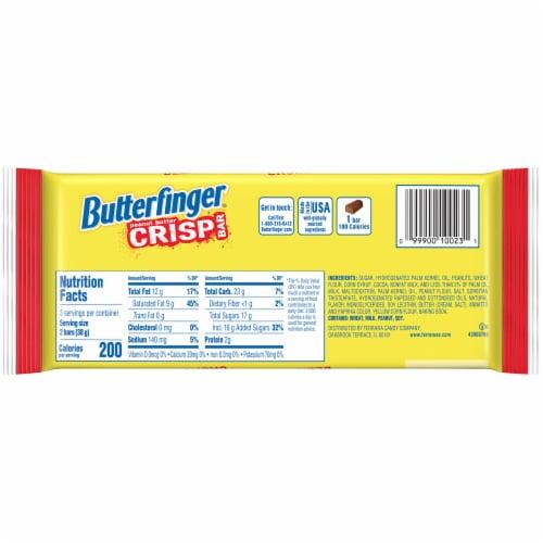 Butterfinger Peanut Butter Crisp Bars Perspective: back