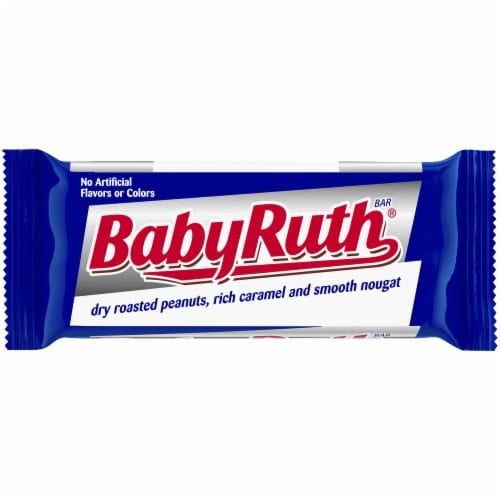 Baby Ruth Fun Size Candy Bars Perspective: back