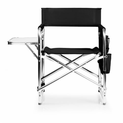 Sports Chair, Black Perspective: back