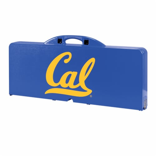 Cal Bears - Picnic Table Portable Folding Table with Seats Perspective: back
