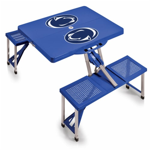 Penn State Nittany Lions - Picnic Table Portable Folding Table with Seats Perspective: back
