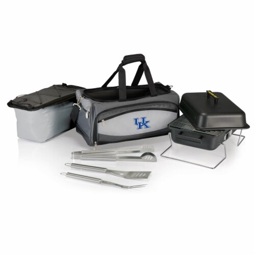 Kentucky Wildcats - Portable Charcoal Grill & Cooler Tote Perspective: back