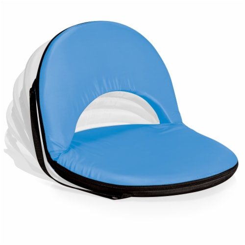 Oniva Portable Reclining Seat, Sky Blue Perspective: back