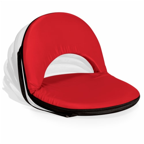 Oniva Portable Reclining Seat, Red Perspective: back