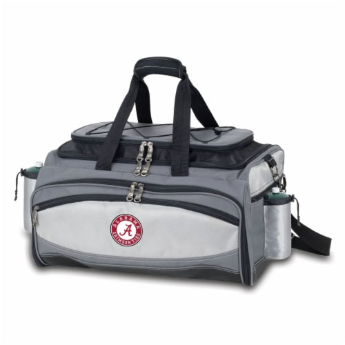 Alabama Crimson Tide - Vulcan Portable Propane Grill & Cooler Tote Perspective: back