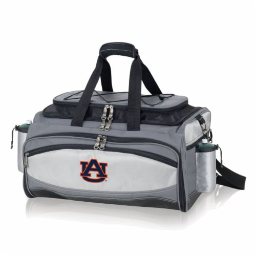 Auburn Tigers - Vulcan Portable Propane Grill & Cooler Tote Perspective: back