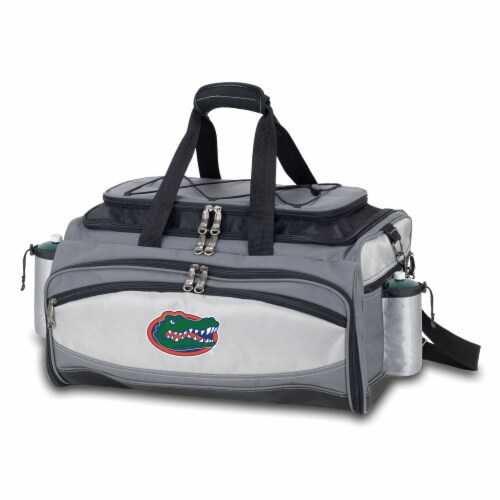 Florida Gators - Vulcan Portable Propane Grill & Cooler Tote Perspective: back