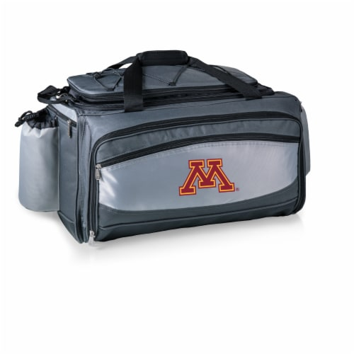 Minnesota Golden Gophers - Vulcan Portable Propane Grill & Cooler Tote Perspective: back