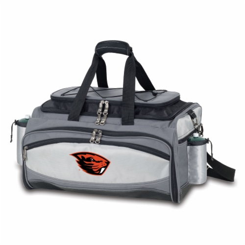Oregon State Beavers - Vulcan Portable Propane Grill & Cooler Tote Perspective: back
