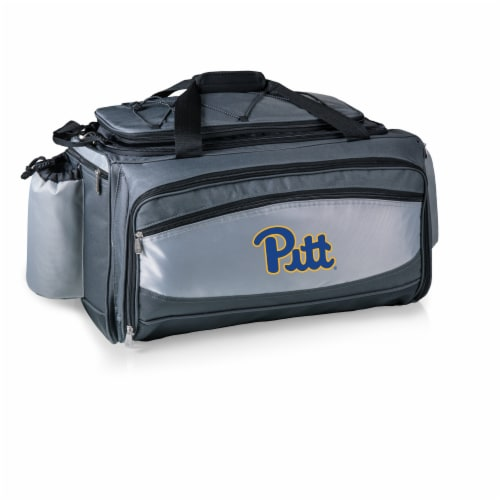 Pitt Panthers - Vulcan Portable Propane Grill & Cooler Tote Perspective: back